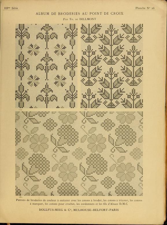 Album de broderies au point de croix Volume III - (55 of 84) | Embroidery - Books - Complete ...
