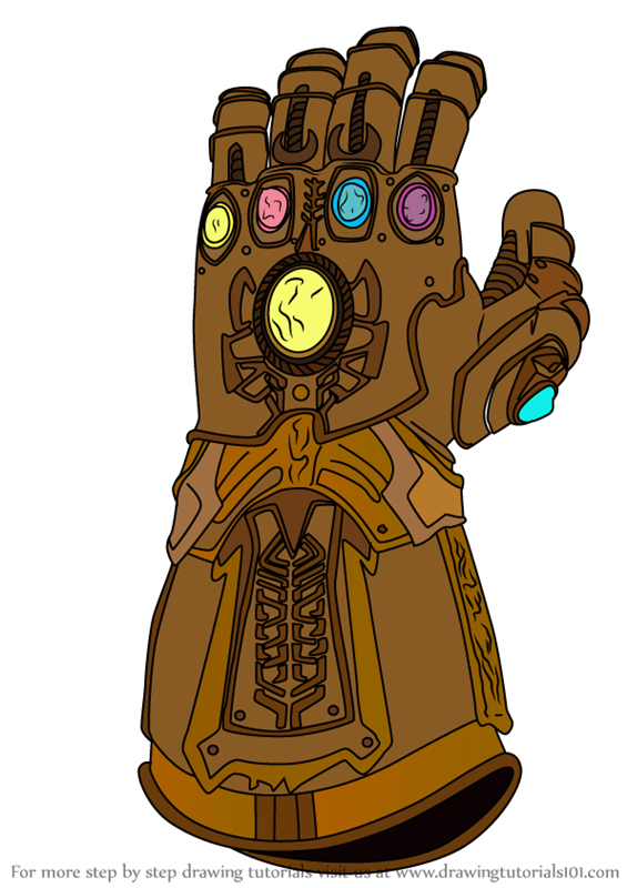 Learn How To Draw The Infinity Gauntlet From Avengers Infinity War Avengers Infinity War Ste The Infinity Gauntlet Avengers Infinity War Avengers Drawings