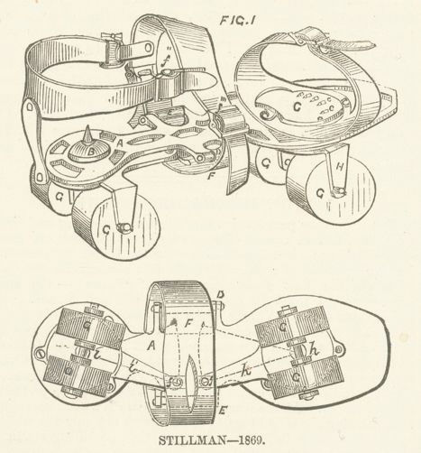 Birth of the Roller-skate