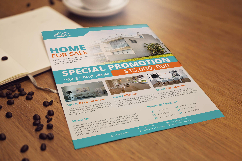 Real Estate Flyer Template Design In 2020 Real Estate Flyer