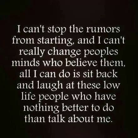 Low life people | Words Of Meaning | Quotes, Quotes about rumors