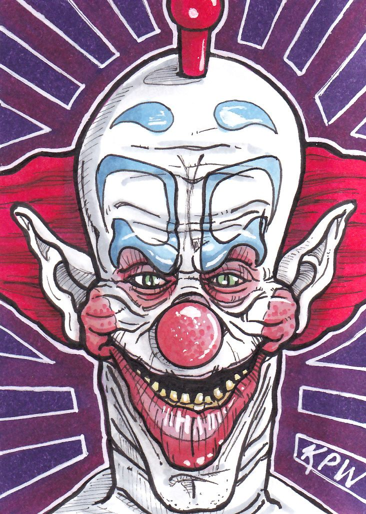 Original Personal Sketch Card done by me Kevin P. West