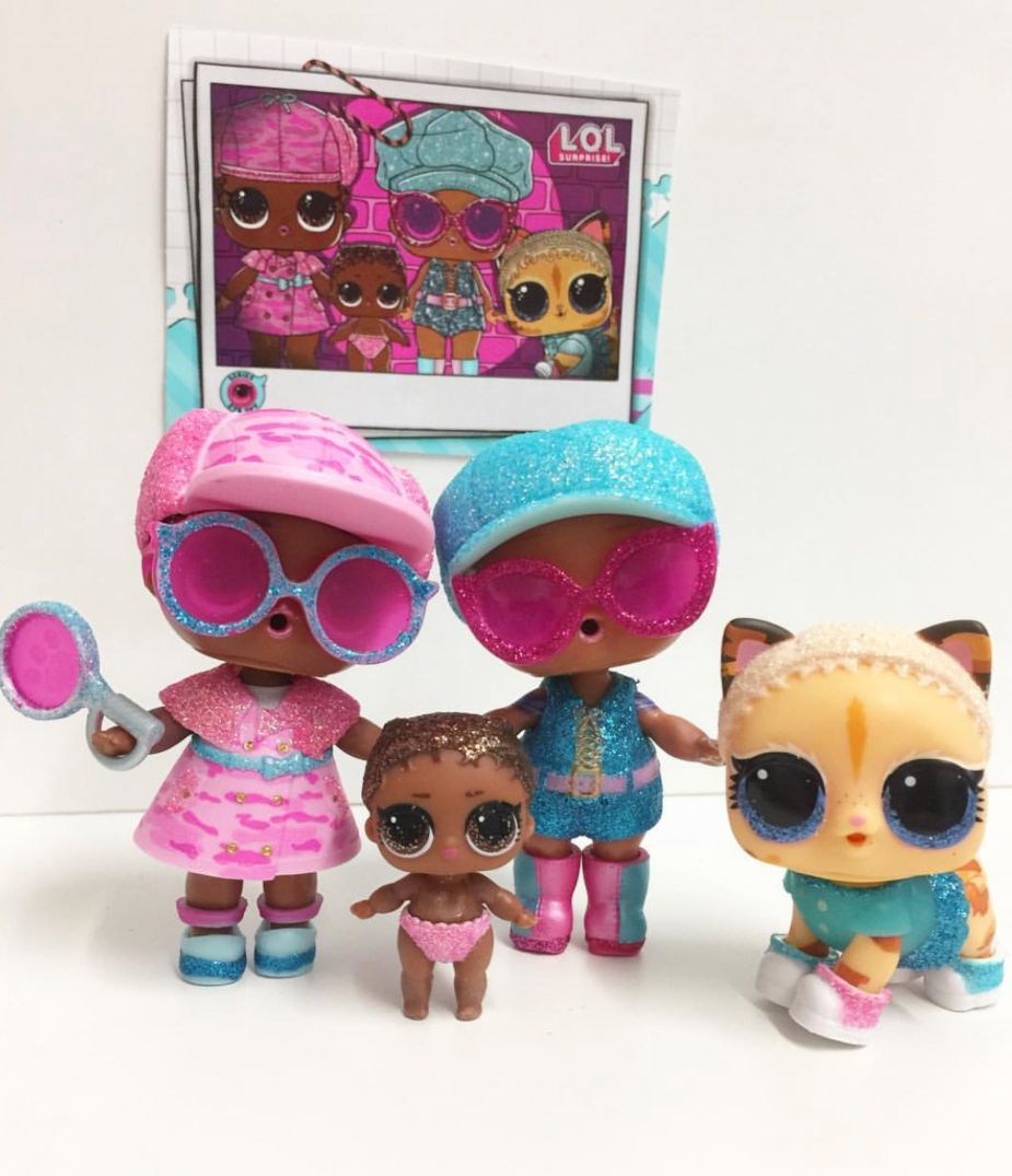 These Are The Lol Dolls That Come Inside The New Limited Edition Bigger Surprise Pink Lol Dolls Barbie Pink Passport Dolls