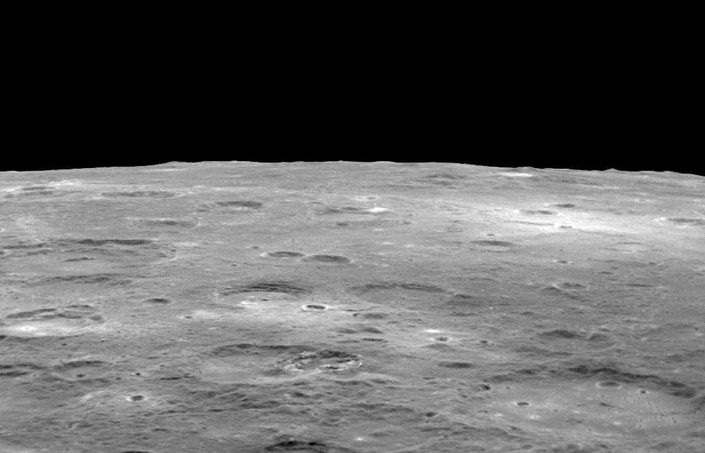 Horizon Shot (Mercury) | Image Credit: NASA/Johns Hopkins University Applied Physics Laboratory/Carnegie Institution of Washington