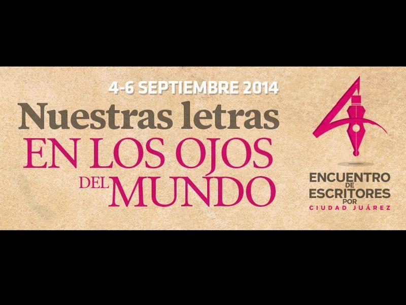 Escritores por Ciudad Juárez estregarán su primera presea a Miguel Ángel Chávez Díaz de León y Fátima Parada, coma parte de su evento inaugural mañana en el Museo de Arte de Ciudad Juárez
