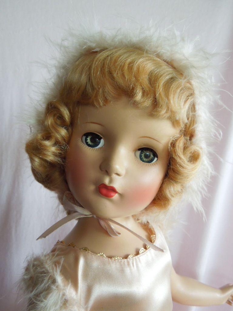 """~ 21"""" Madame Alexander """"Babs"""" Skater Doll ~ (1949)"""