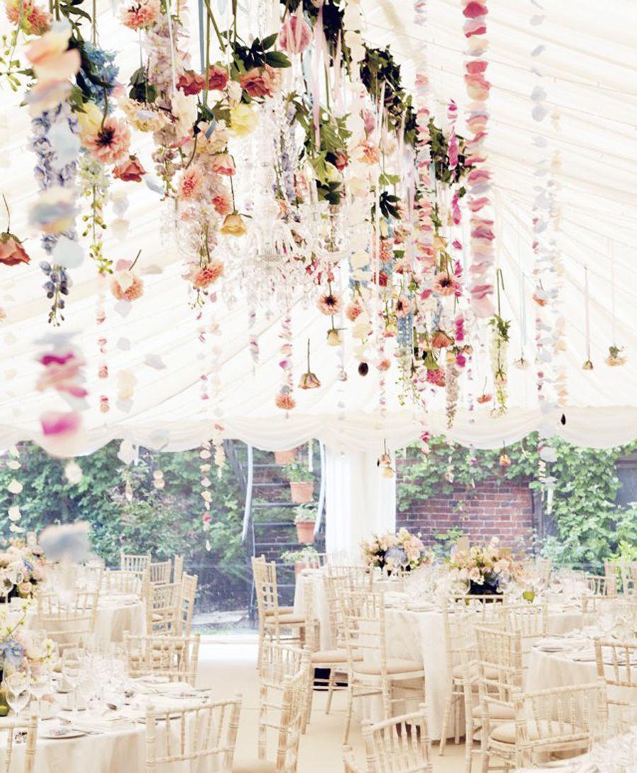 Wedding marquee decoration ideas  Naturligt avslappnat och riktigt fint u den bohemiska trenden är