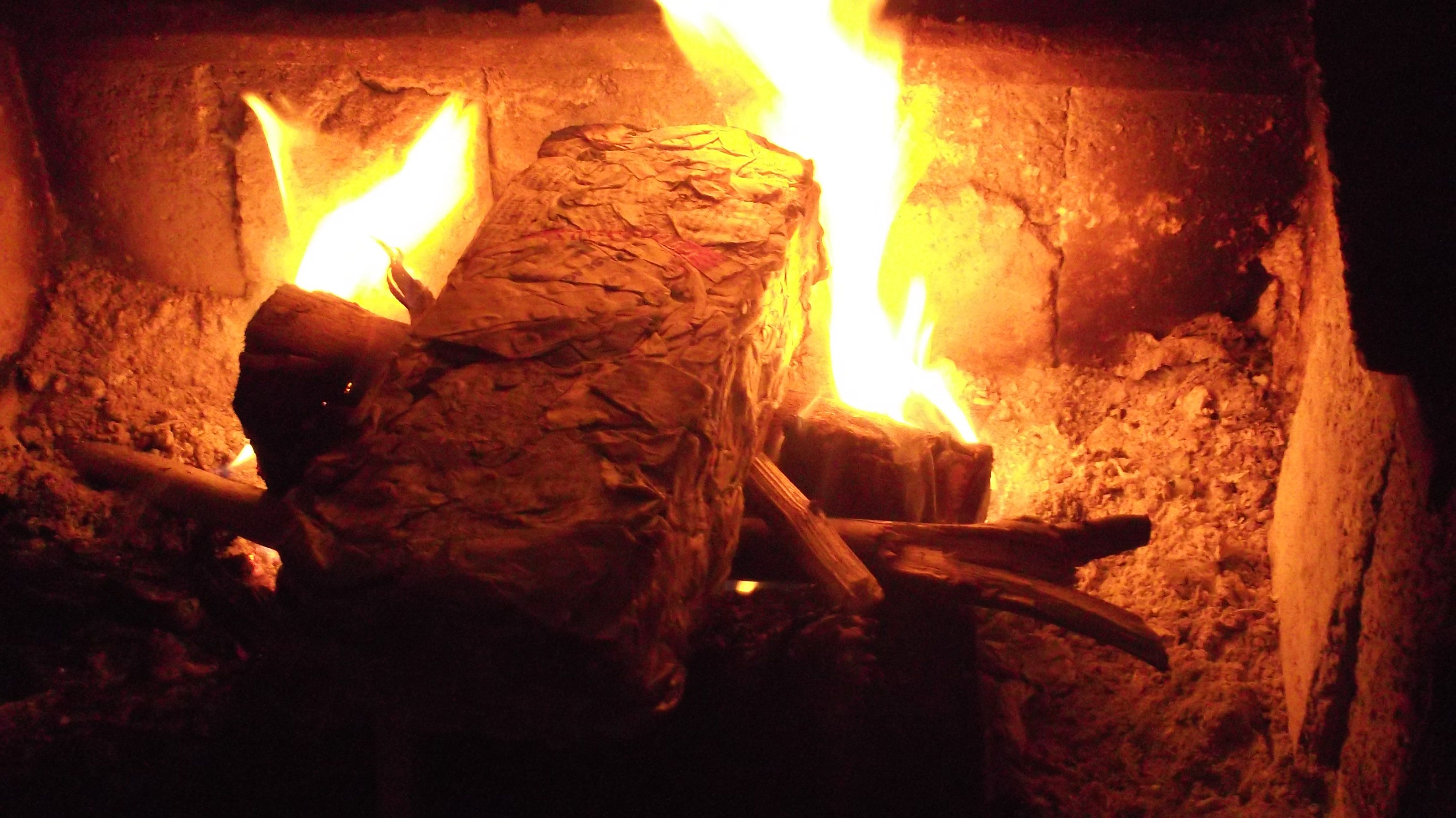 How I Make Quick And Easy Newspaper Bricks For Burning In My Fire Paper Fire Shredded Paper How To Make Fire