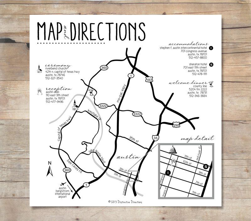 Wedding Invitations With Maps: The 25+ Best Wedding Direction Maps Ideas On Pinterest