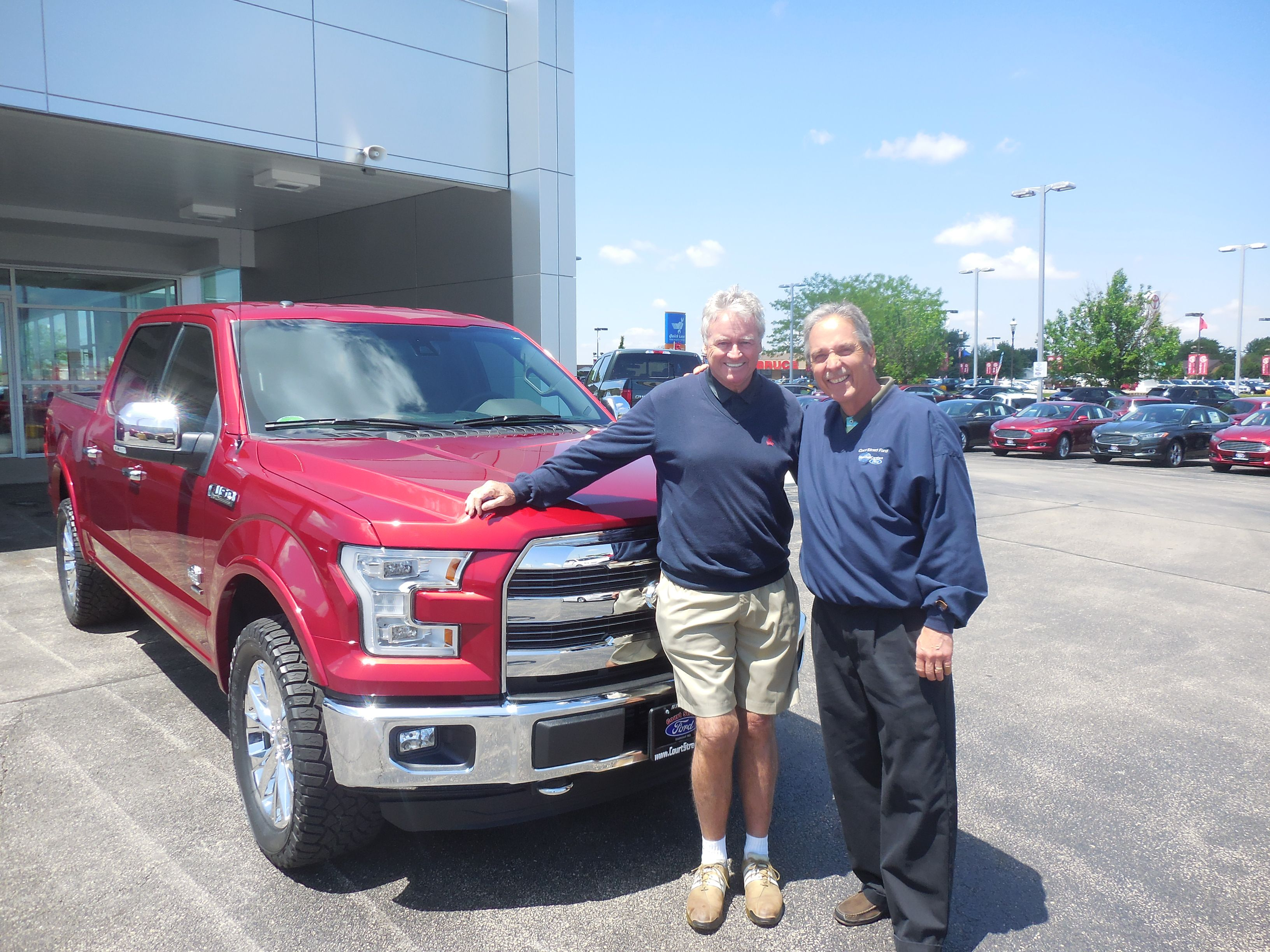 Ross Fleckenstein and the rest of us here at Court Street Ford would