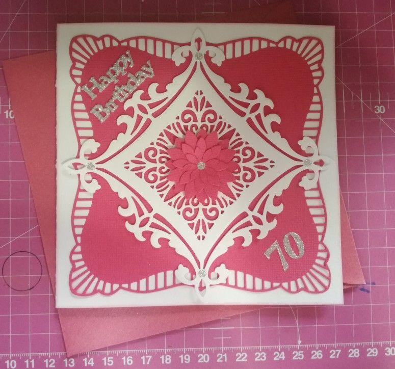 Ann's birthday card. Birthday cards, Handmade, Cards