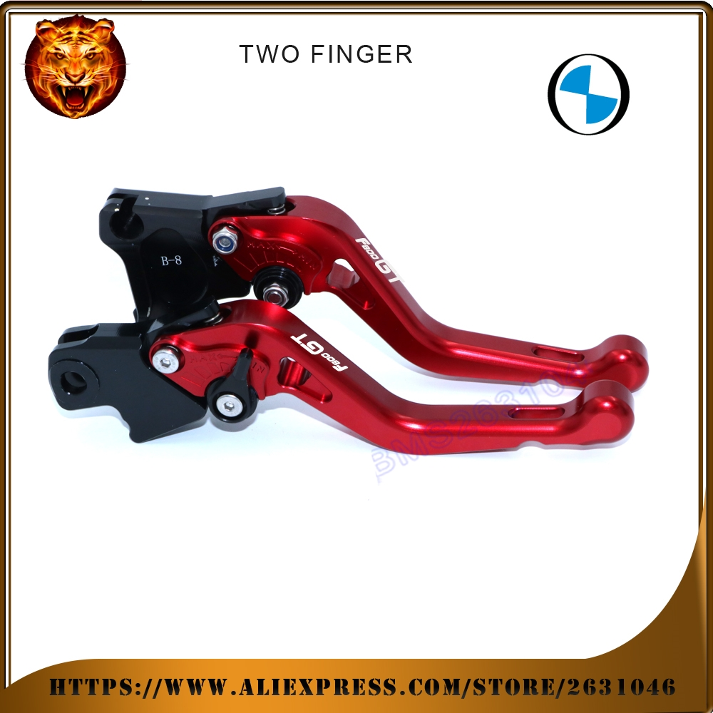 (34.91$)  Watch more here  - For BMW F800GT  F800 RED BLACK GOLD SILVER NEY STYLE MOTO MOTOBIKE Motorcycle Adjustable Short Brake Clutch Levers