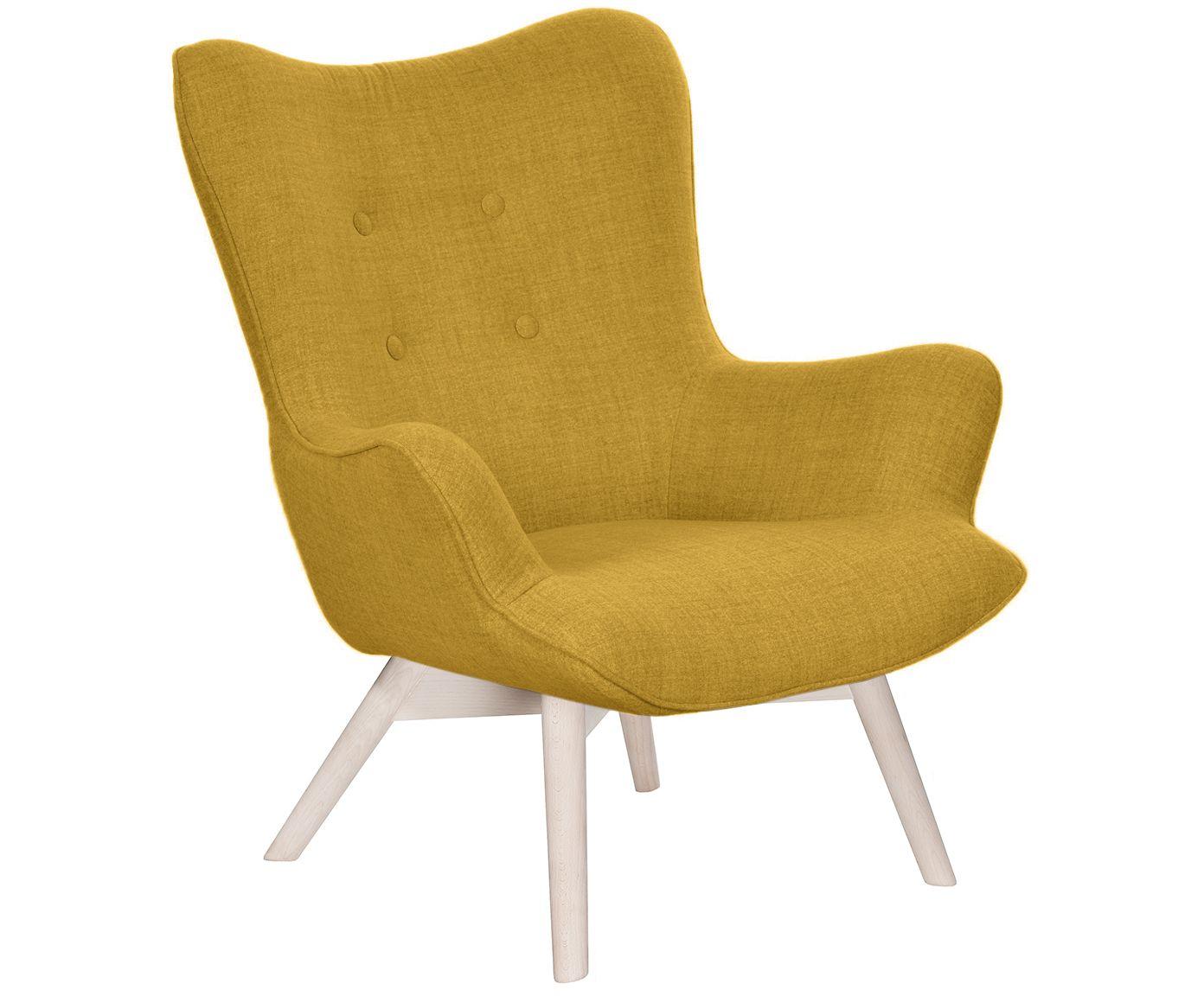 Machen Sie Ihr Wohnzimmer mit Sessel Twirl in Gelb zur Wohlfühloase ...