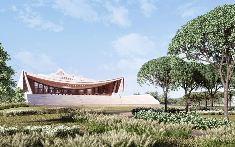 David Adjaye révèle les plans de la nouvelle cathédrale nationale du Ghana