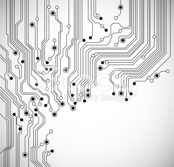 Circuit board abstract background Abstract backgrounds, Vector art - new robot blueprint vector art