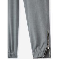 Photo of The Kooples – Pantalon de jogging en laine gris élastique avec cordons de serrage – Damenthekooples.com