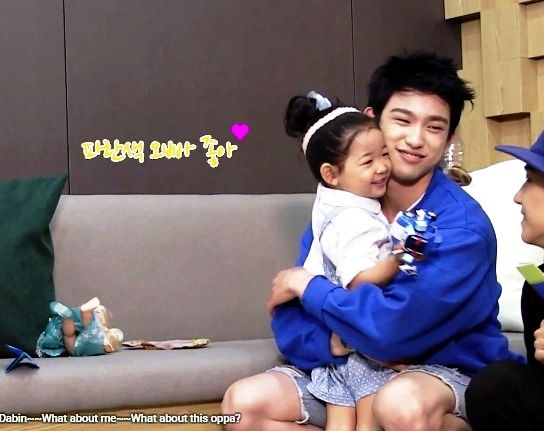 it was so adorable how much she liked Junior ^^