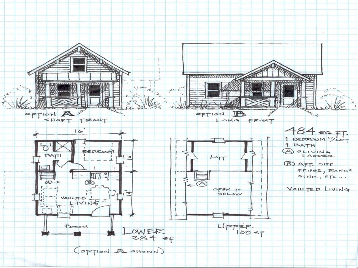 10 Inspiring English Cottage House Plans Small Cabin Plans Small House Floor Plans Loft Floor Plans