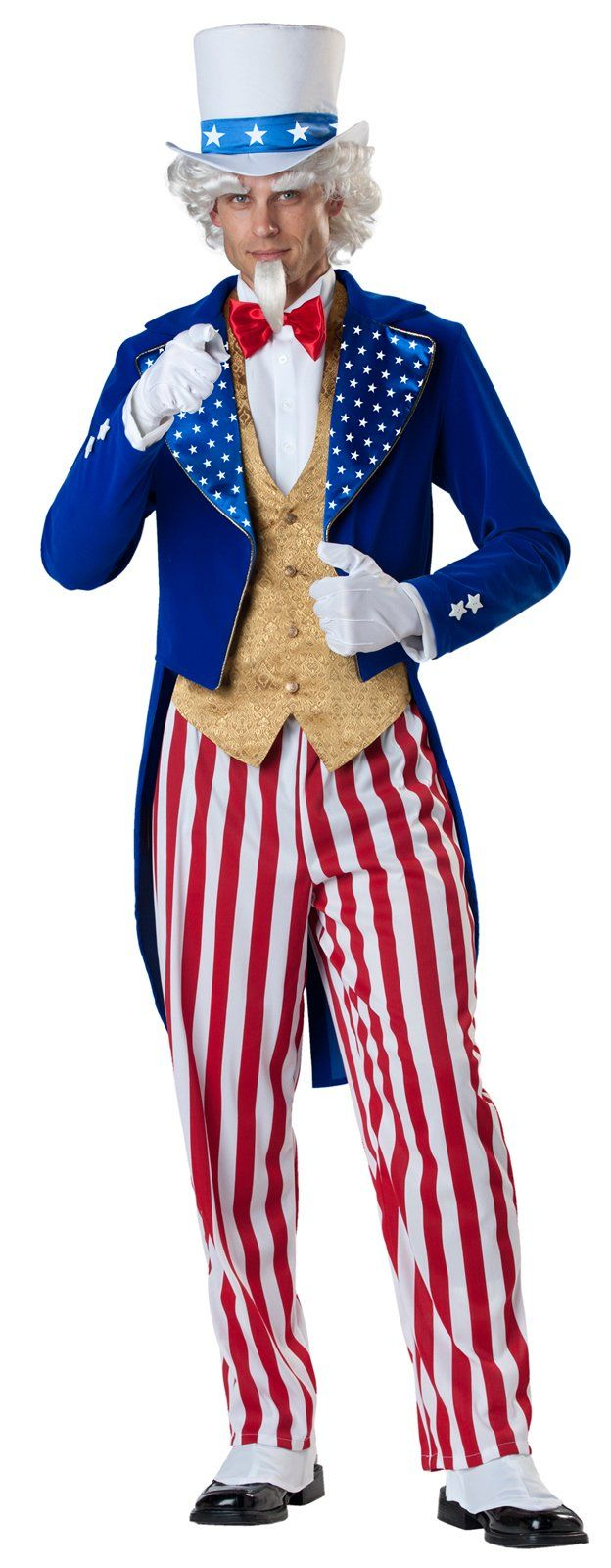 Uncle Sam Elite Collection Adult Costume | Costumes, Outdoor ...