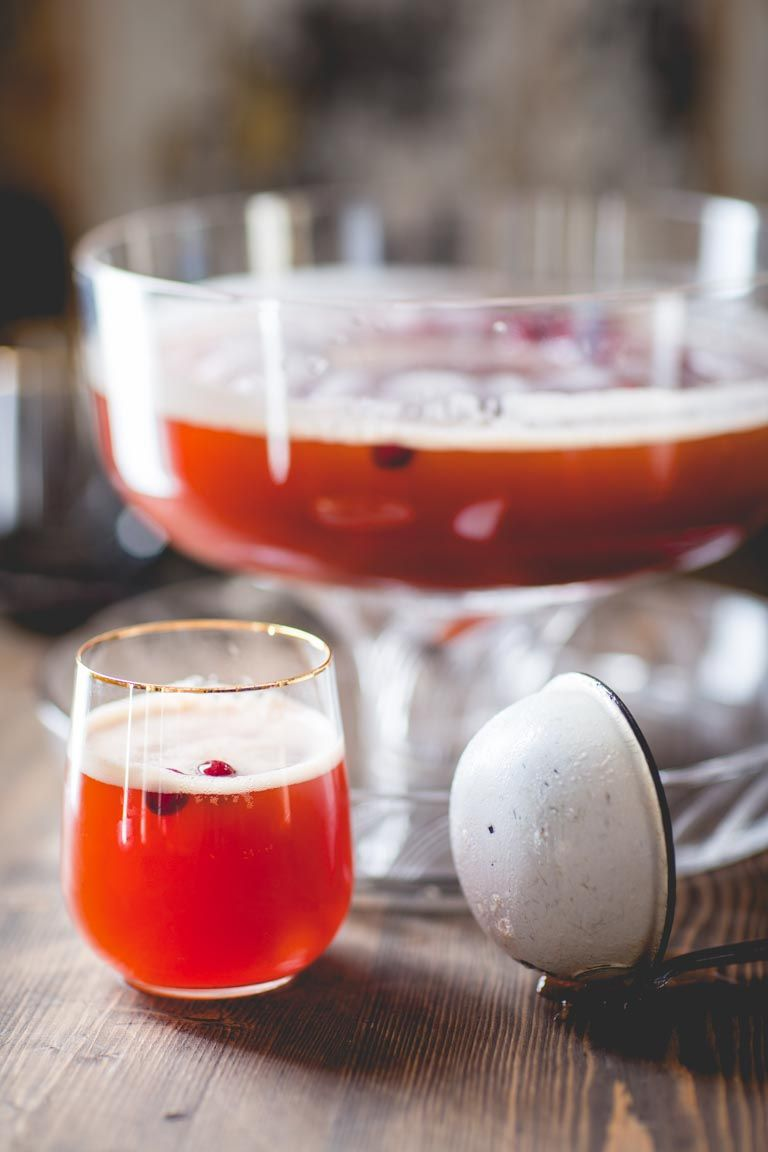 Maple Spiced Rum Punch   Drink   Holiday   Christmas   Rum   Maple ...