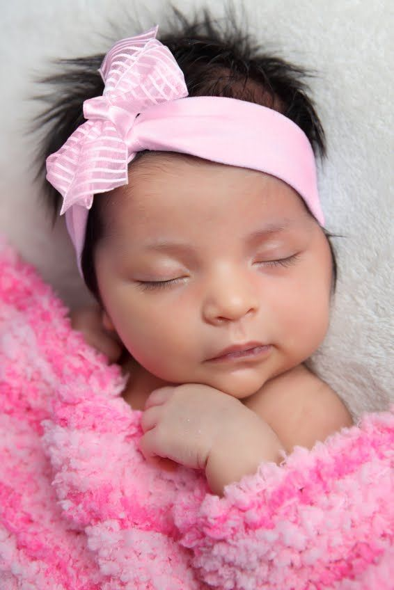 Newborn Hispanic Baby