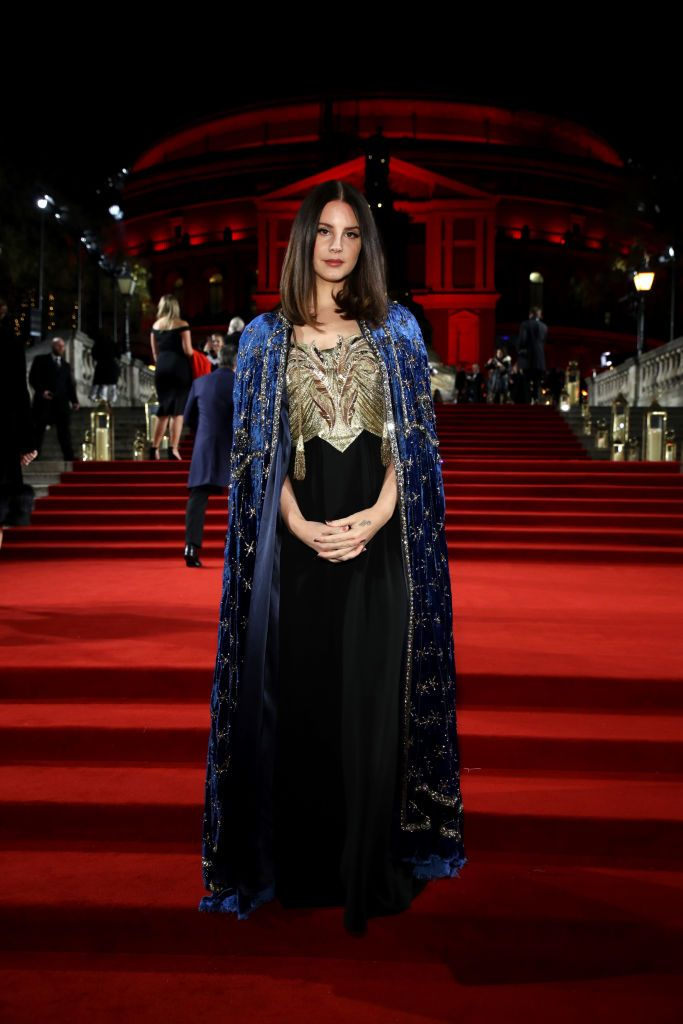 Lana Del Rey arrives at The Fashion Awards 2018 In