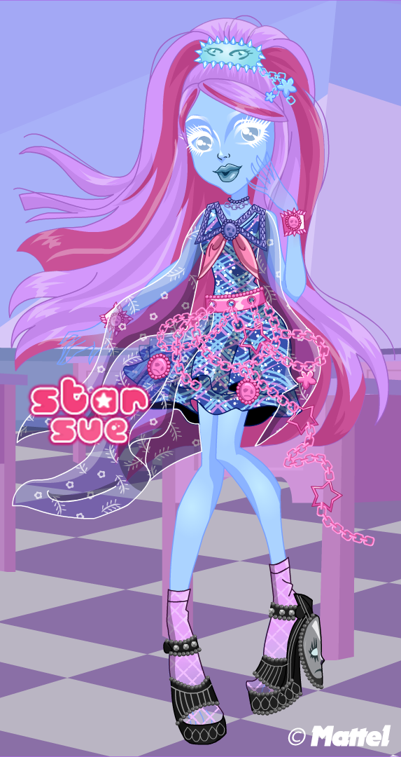 Monster High Haunted Student Spirits Kiyomi Haunterly Dress Up Game ...