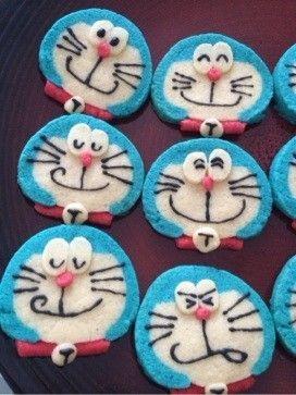 ドラえもんかわいいアイスボックスクッキー by プクル レシピ アイスボックスクッキー クッキー お菓子 かわいい