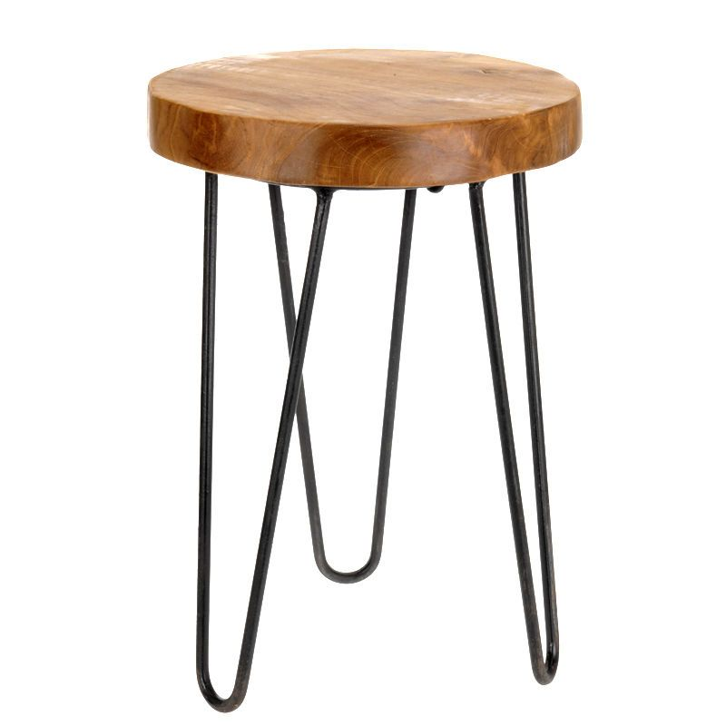 Teakholz beistelltisch  Details zu Teak-Holz Tisch Sitzhocker Hocker Teakholz ...