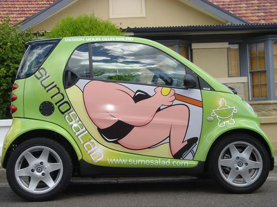 Sumo Car Wrap All Wrapped Up Vehicle Wraps Pinterest Car