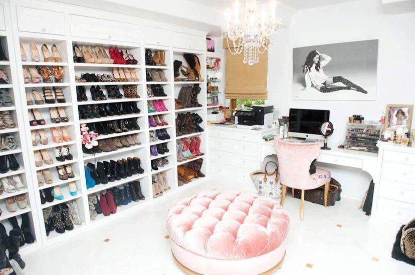Un vestidor como este para tener todo el calzado bien ordenado, el ...