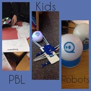 Project Based Learning Lesson with primary grades. Sphero Robots too!