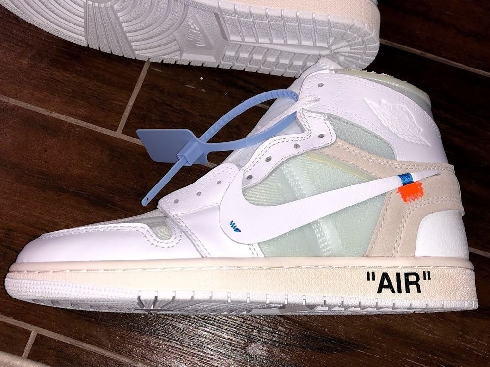 8f6e80094aab Nike Air Jordan 1 X Off White NRG White Size 10 Virgil AblohAQ0818-100 (UA)   fashion  clothing  shoes  accessories  mensshoes  athleticshoes (ebay link)