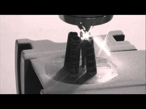 Beam Machines : laser metallic deposition