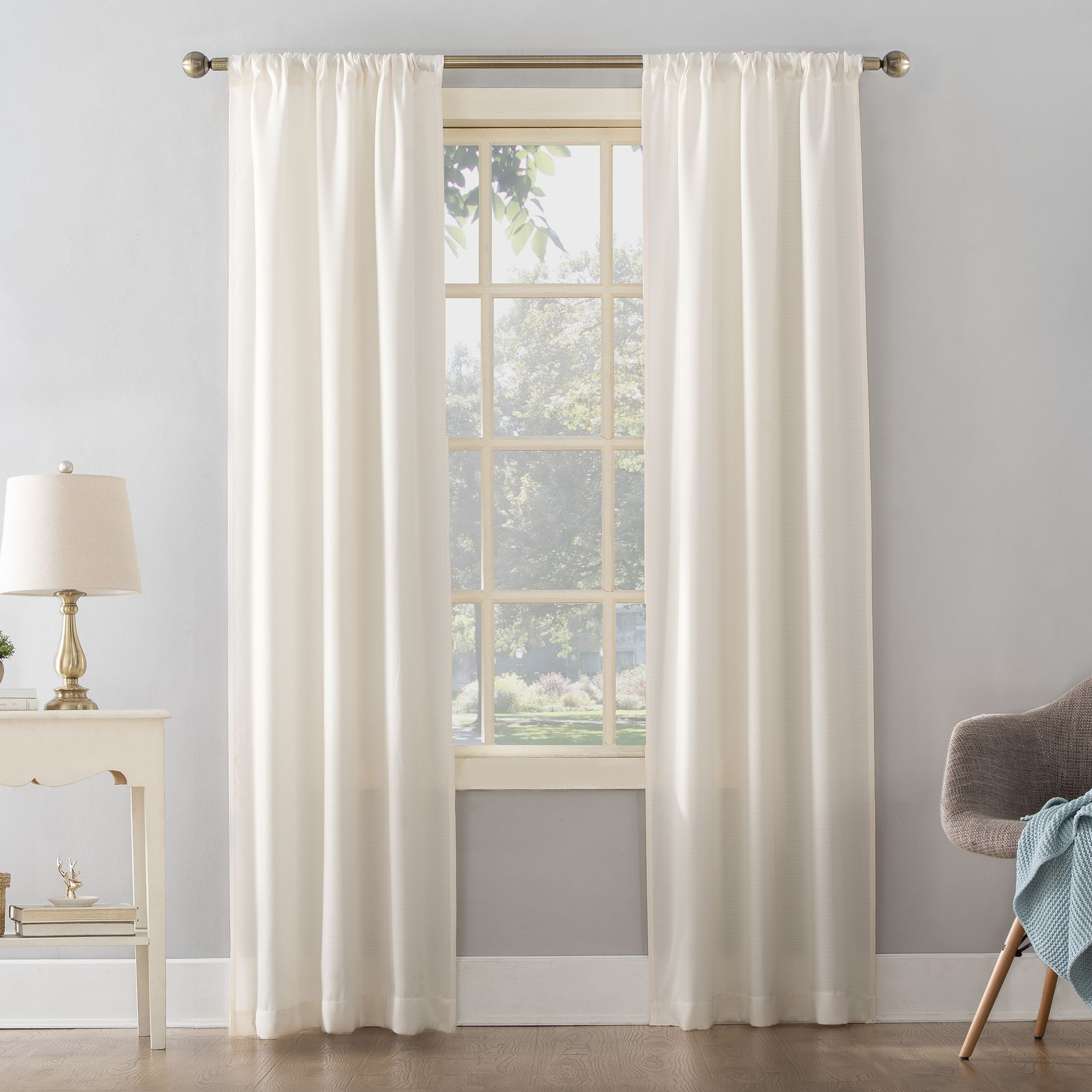 Pin By Julie Morse On Curtains In 2021 Solid Curtains Curtain Single Panel Easy Hanging Curtains