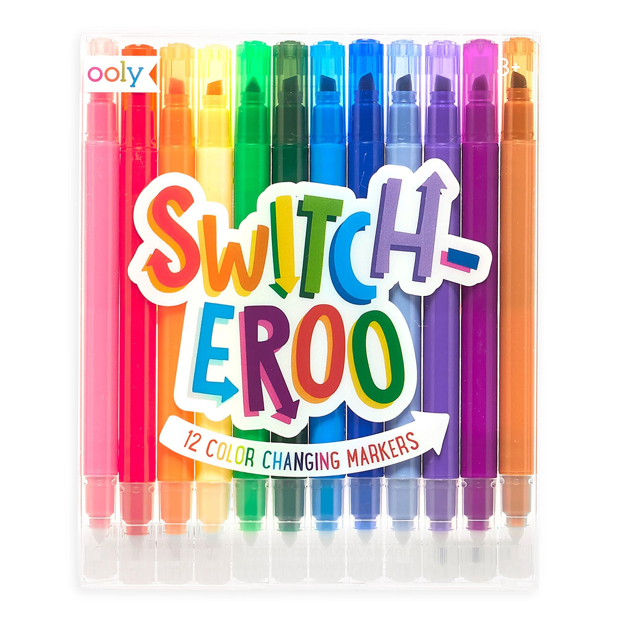 Ooly Switch Eroo Color Changing Markers 12 Pack By World Market In 2020 Markers Set Coloring Markers Markers