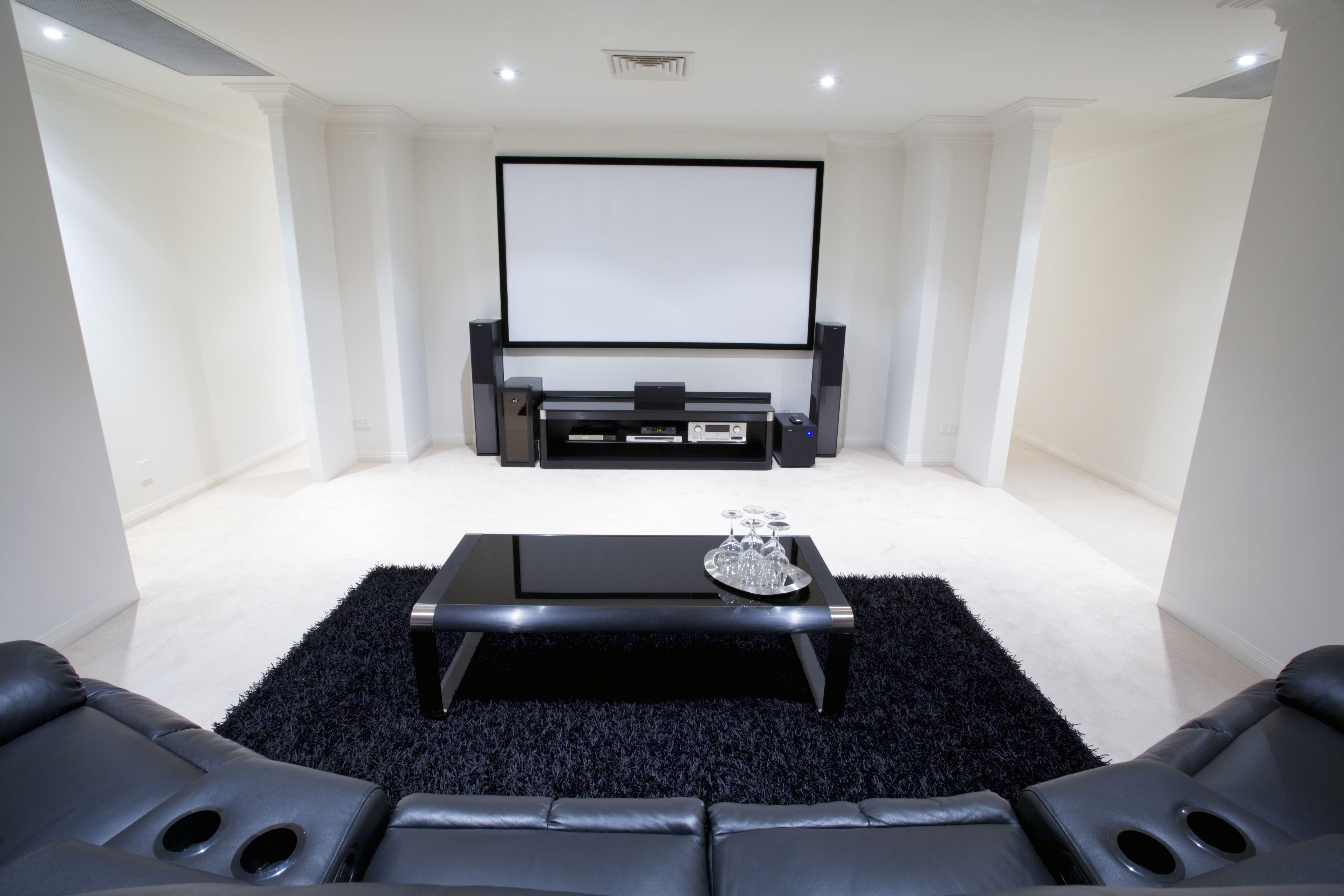 Fine Home Cinema Room Design Gallery - Home Decorating Ideas ...