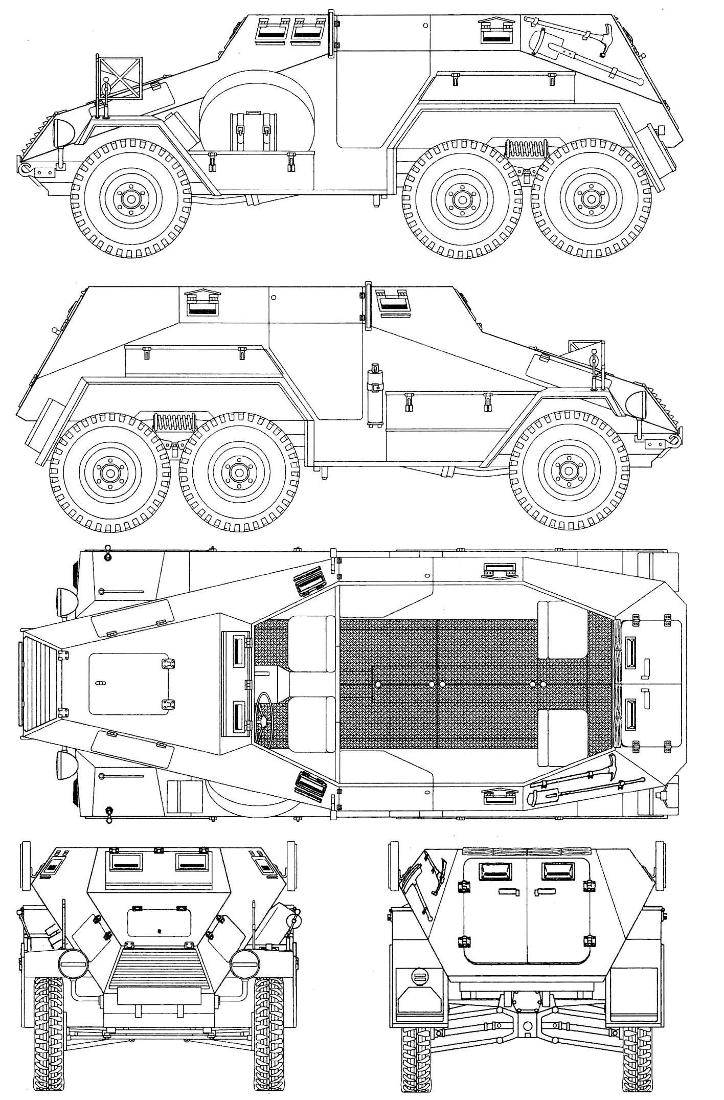 Sd Kfz 247 Blueprint