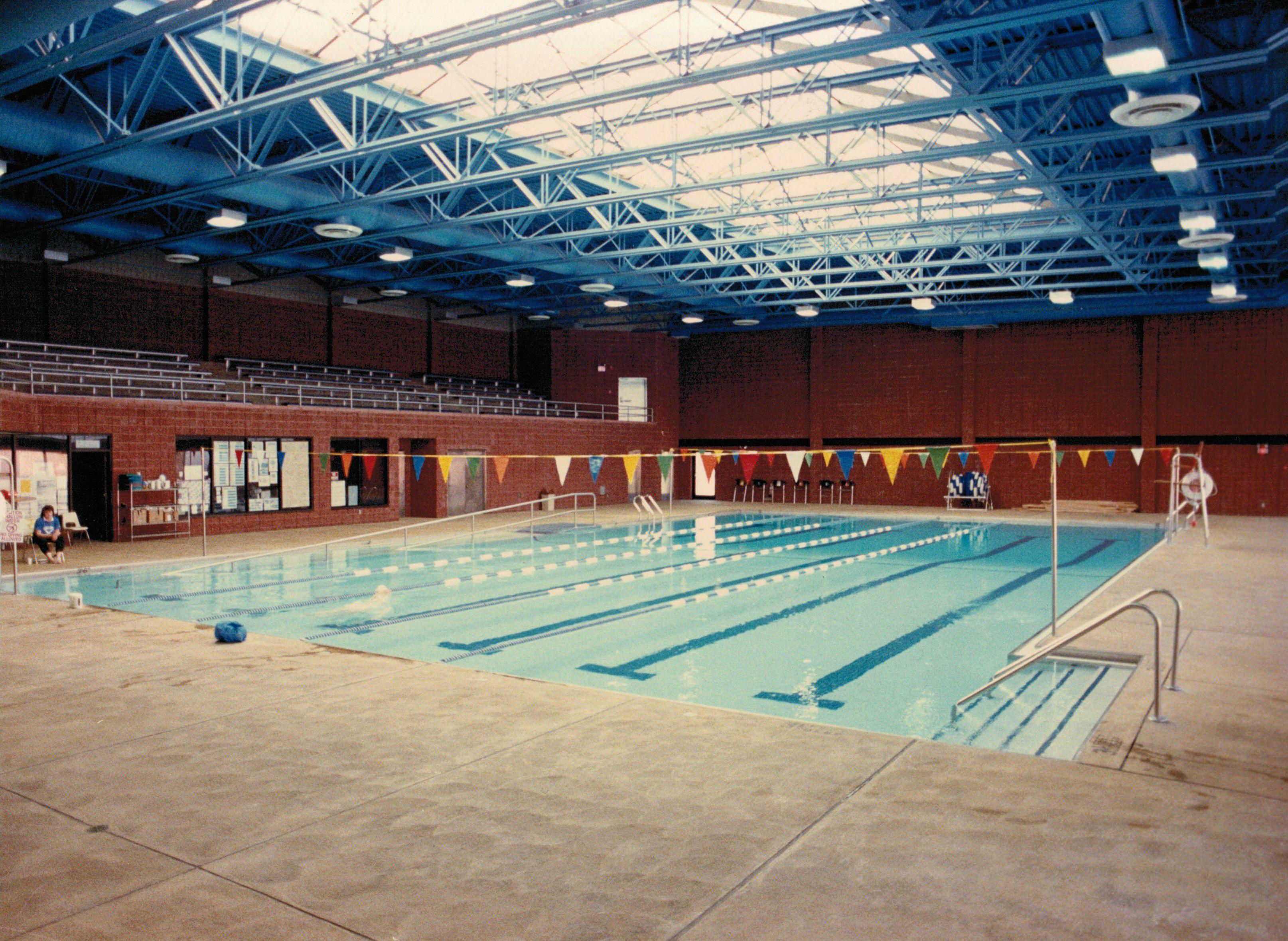 Commack YMCA Norberto Pools Ymca, Swim meet, Architecture
