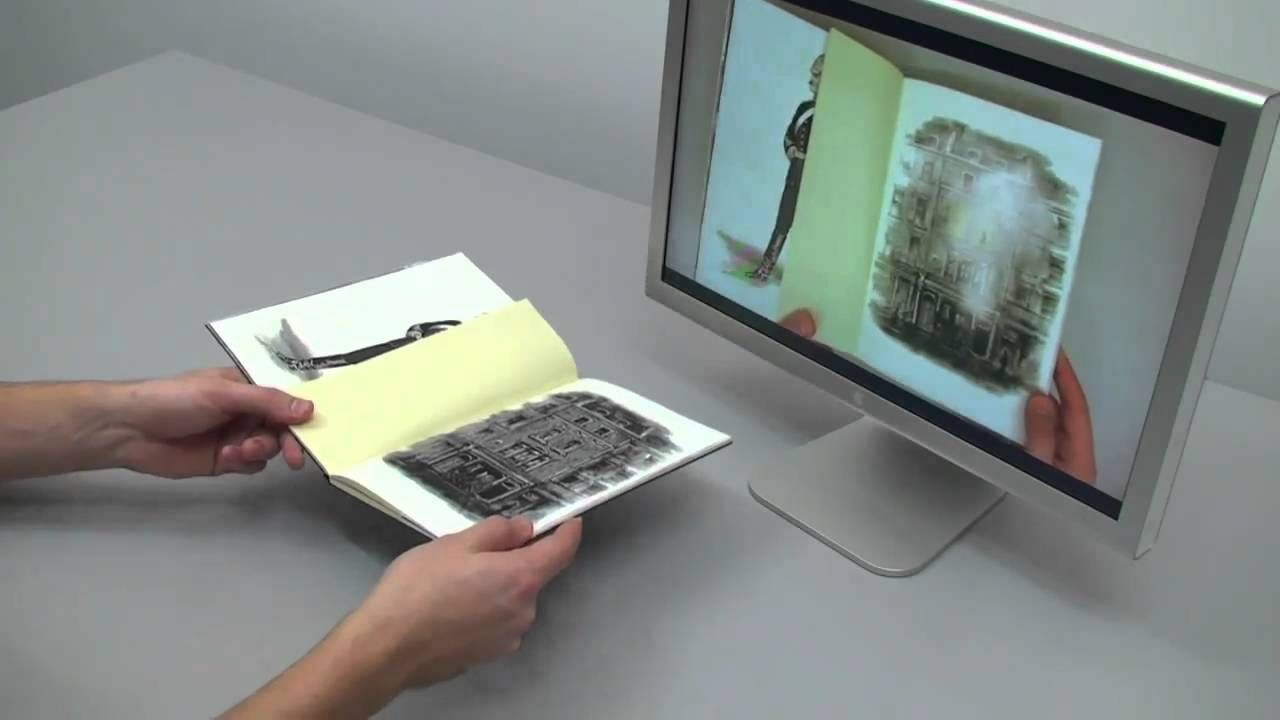 Jekyll and Hyde Augmented Reality Book - All Examples | tech