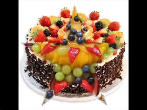 Fruit Cake Decoration Ideas YouTube - 480x360 - jpeg & Fruit Cake Decoration Ideas YouTube - 480x360 - jpeg | pasteles ...