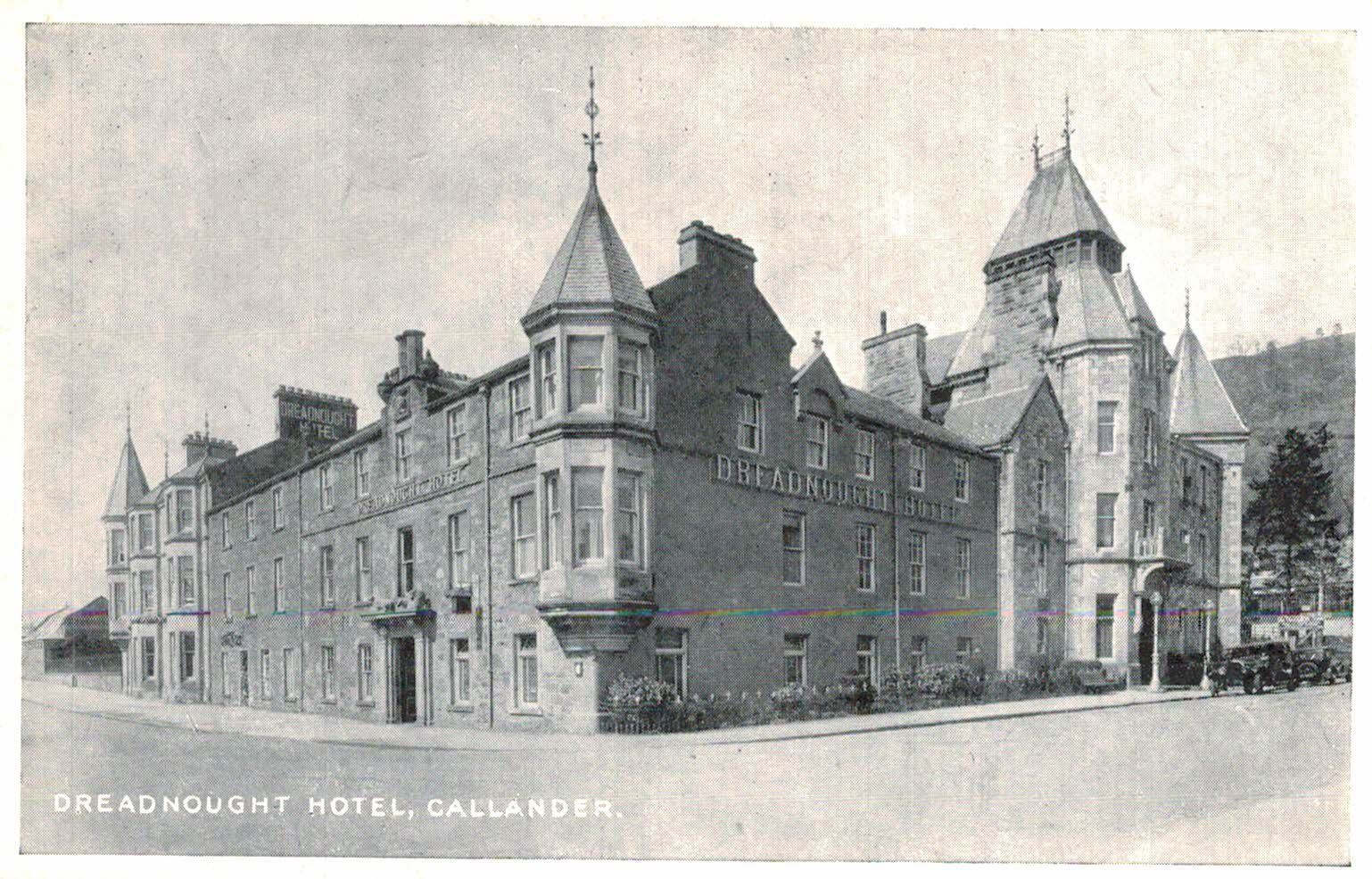 Callander Scotland U K Dreadnought Hotel Stirling C 1909
