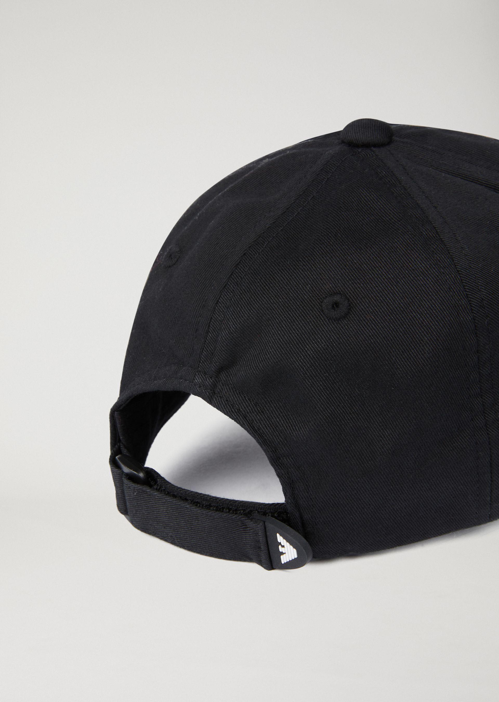 2ff5b6ba Emporio Armani Baseball Cap With Logo Trim - Military Green ...