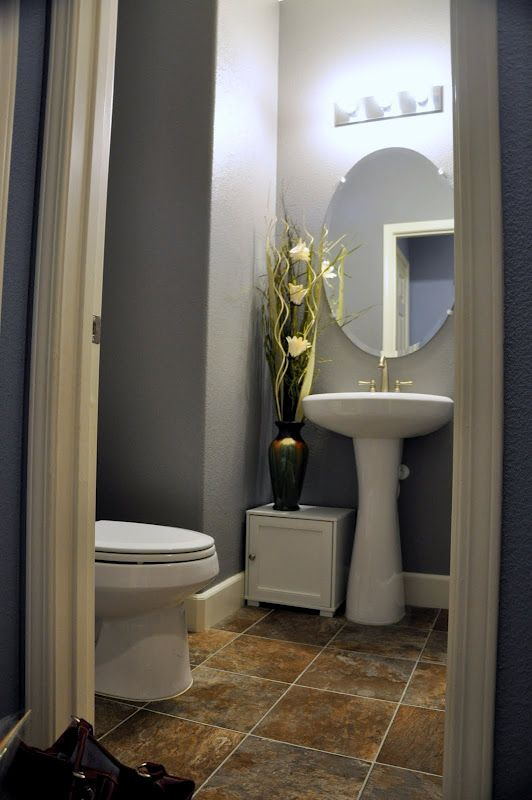Powder Room Color Pewter Cast Sherwin Williams Might