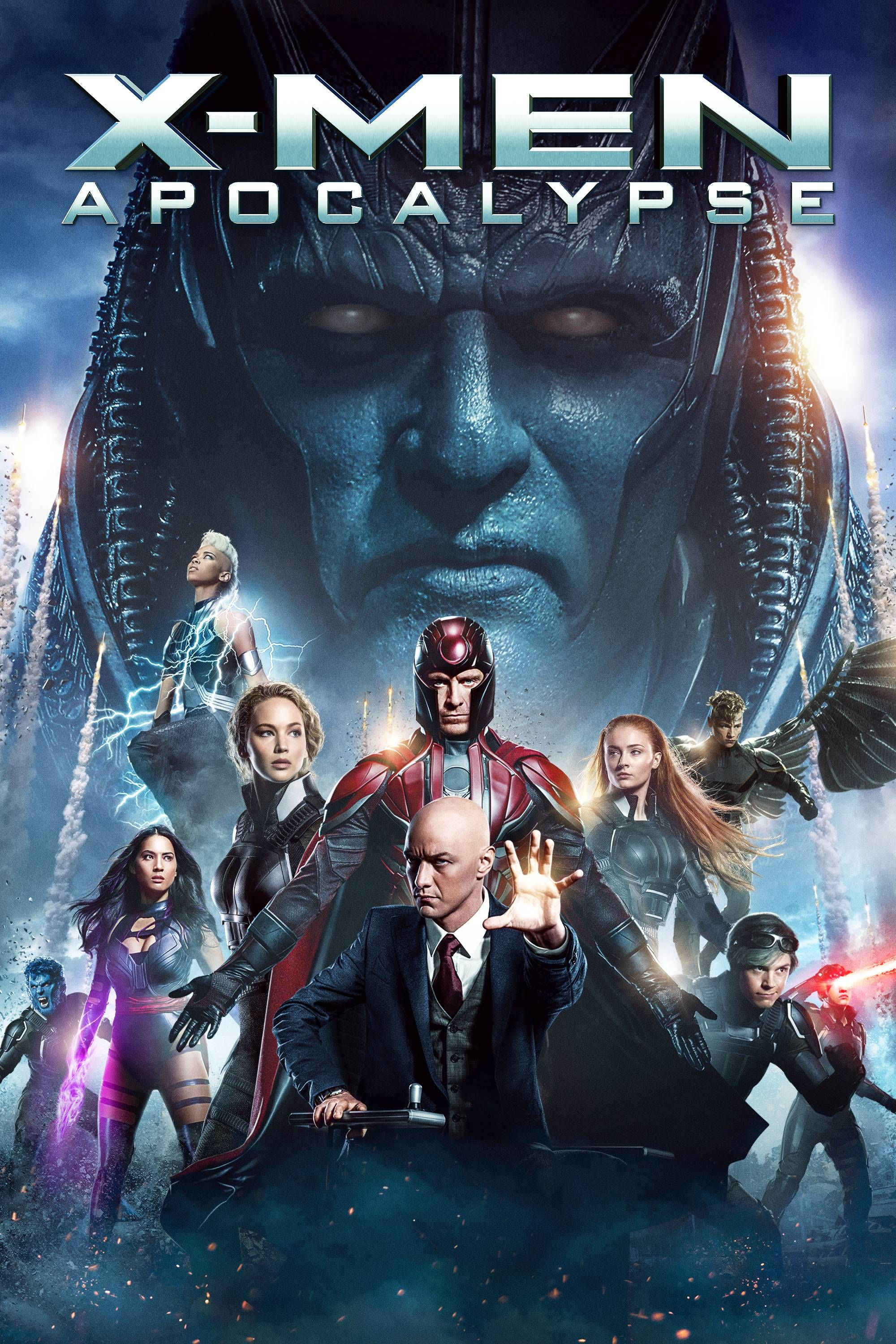 X-Men: Apocalypse Movie Poster - James McAvoy, Michael Fassbender, Jennifer Lawrence  #Men, #Apocalypse, #JamesMcAvoy, #MichaelFassbender, #JenniferLawrence, #BryanSinger, #ActionAdventure, #Art, #Film, #Movie, #Poster
