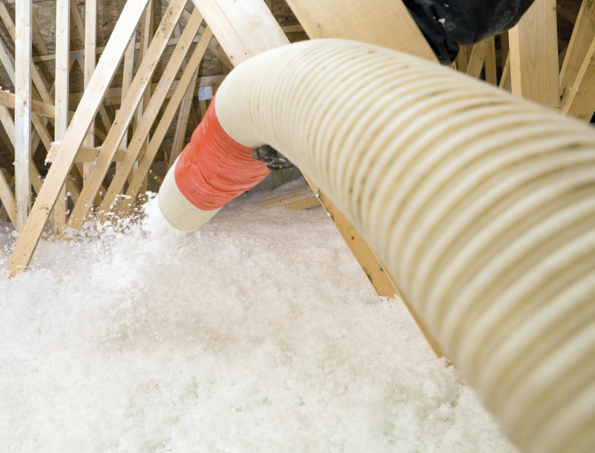 How To Install Blown In Cellulose In Your Attic Attic Insulation Attic Renovation Blown In Insulation