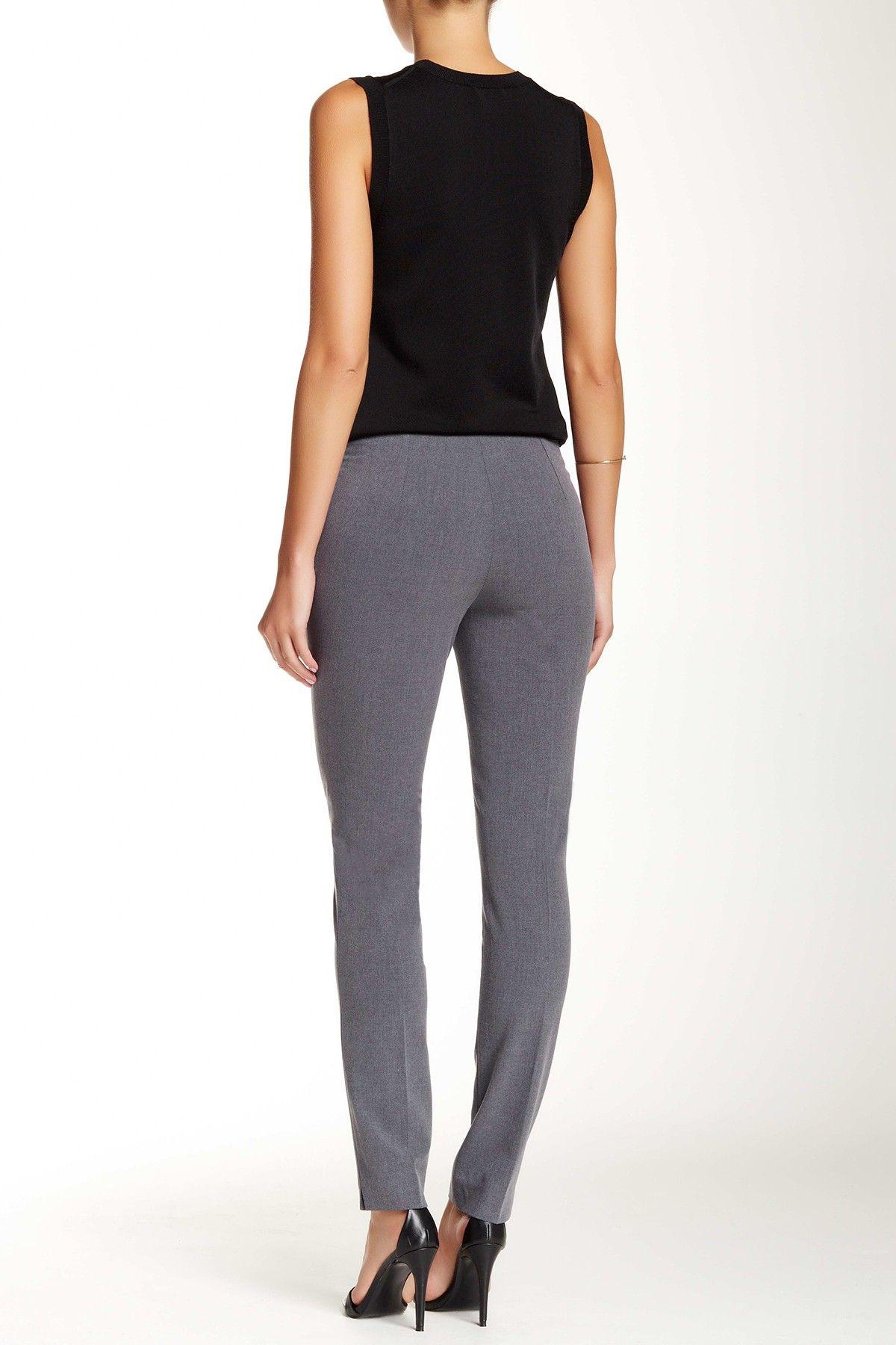 Amanda Amp Chelsea Signature Side Zip Slim Fit Pants