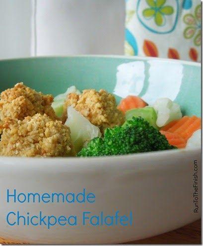 Homemade Chickpea Falafel - Eat Clean Recipe