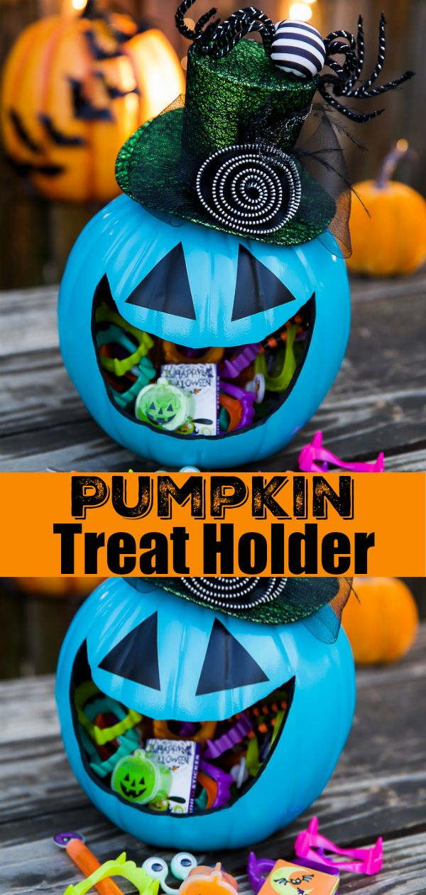 DIY Pumpkin Treat Holder (With images) Allergy friendly