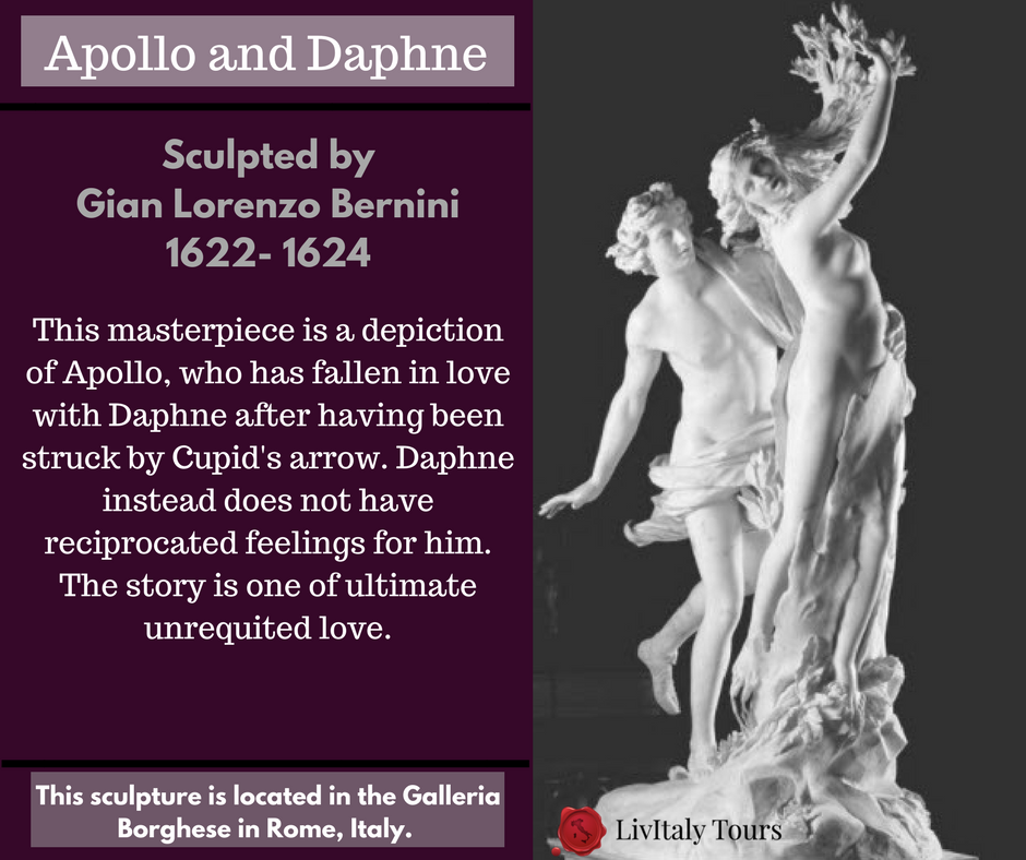 Did You Know That The Apollo And Daphne Sculpture By Bernini Is Located In The Borghese Gallery In Rome Iliveitaly Scu Italy Tours Visit Italy Travel Quotes